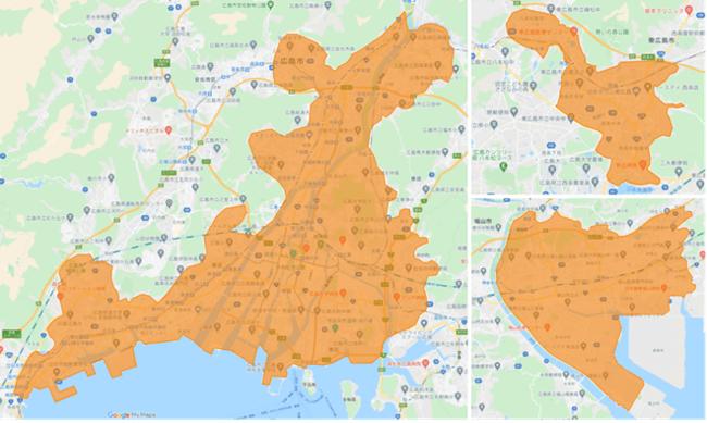 didiフード広島マップ